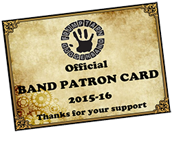 Frumptarn Band Patron Card